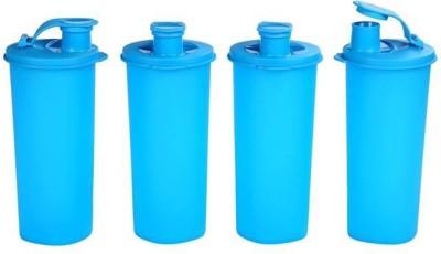 Signoraware Stylish Sipper Jumbo 500 ml Water Bottles(Set of 4, Blue)