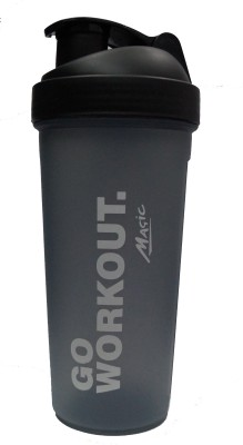 Naughty Bear GYM SHAKER 600 ml Water Bottle(Set of 1, Black)  available at flipkart for Rs.225
