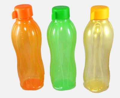 Tupperware aqua 500 ml Water Bottles(Set of 3, multicolour)