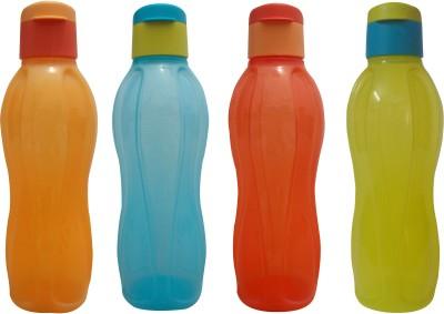 Tupperware Black Color Water Bottle 1000ml 1000 Bottle(Pack of 2, Black)