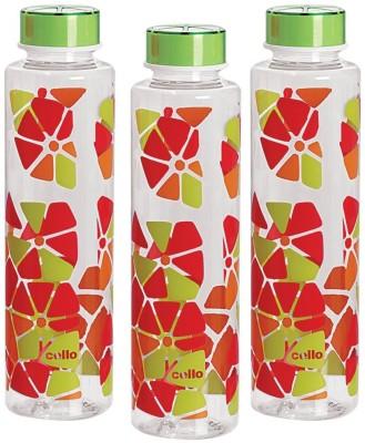 Cello Contempo 1000 ml Water Bottles(Set of 3, Green)