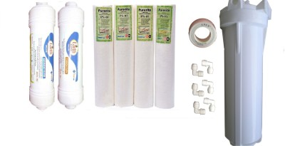 Earth Ro System Ro Service Inline Filter set Modl15 Solid Filter Cartridge(0.5, Pack of 14) at flipkart