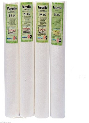 XISOM 20'' inch PP/Spun Filter/Pre-Filter Cartridge For RO/UV Purifier Solid Filter Cartridge(0.5, Pack of 4)  available at flipkart for Rs.499