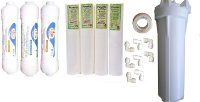 Earth Ro System Ro Service Inline Filter set Modl10 Solid Filter Cartridge(0.5, Pack of 17) at flipkart
