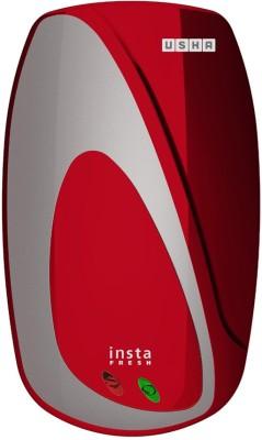 Usha 3 L Instant Water Geyser(Maroon, Instafresh Instant Wine Silver) at flipkart
