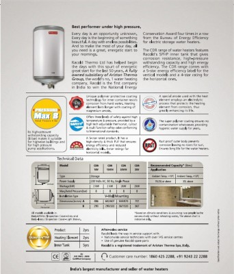 Racold-CDR-15-Litre-Storage-Water-Geyser