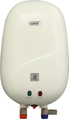 Sunhot 3 L Instant Water Geyser (Heater (Ivory), White) at flipkart