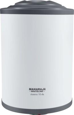 Maharaja Whiteline 10 L Storage Water Geyser (Classico DLX, White and Blue)