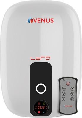 Venus 15 L Storage Water Geyser (lyra digital 15 ltr 015rd white/black, Multicolor)
