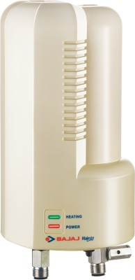Bajaj 3 L Instant Water Geyser(Ivory, Majesty 3L-3KW Instant Water Heater)  available at flipkart for Rs.3595