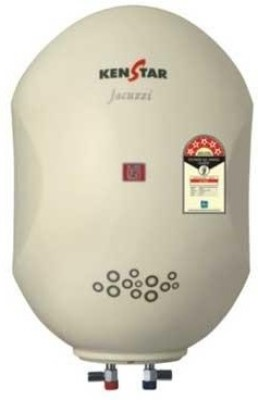 Kenstar 15 L Storage Water Geyser(White, WH-KEN-15 LT-KGS15W5P-Jacuzzi)  available at flipkart for Rs.6500