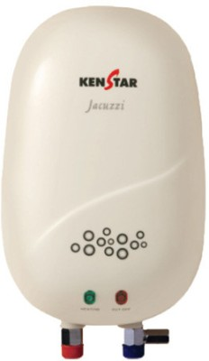 Kenstar 1 L Instant Water Geyser(White, Jacuzzi -Kgt01w1p)  available at flipkart for Rs.2500