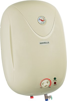 Havells 15 L Storage Water Geyser (Puro, Silver, White)