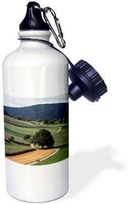 3dRose 621 ml Water Purifier Bottle White