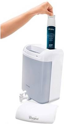 whirlpool destr 6 L Gravity Based Water Purifier (White)