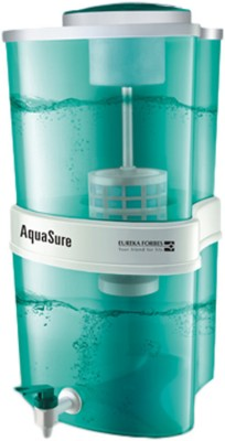 Eureka Forbes Aquasure Shakti Gravity Based Water Purifier, 15 L