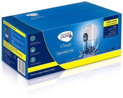 Pureit Germ Kill Kit Compact 1250 L Gravity Based Water Purifier(White)
