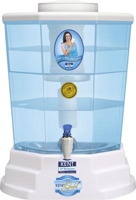 Kent Gold Plus 11015 20L Gravity Based Water Purifier (Blue & White)