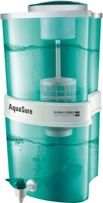 Eureka Forbes Aquasure Aayush 22 L Gravity Based Water Purifier(Green)