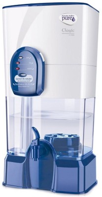 Pureit Classic 14L Gravity Based Water Purifier (Transparent)