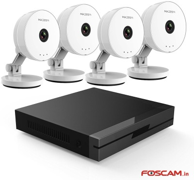 Foscam c1 Lite, FN3104H  Webcam(White (Camera), Black (NVR))
