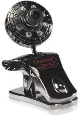 Quantum QHM 500 LM CAMERA (with 8 lights & 30 megapixel)  Webcam (Black)