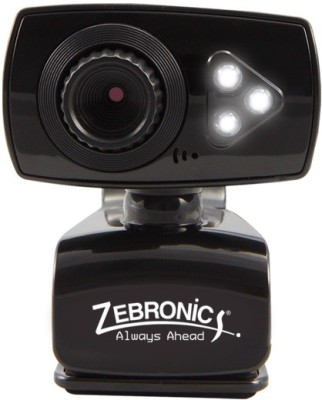Zebronics Viper Plus  Webcam(Black)