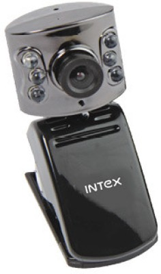 Intex Pc Webcam Night Vision 601k (It-306wc)  Webcam(Black)