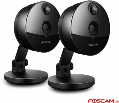 Foscam 2x C1  Webcam(Black)