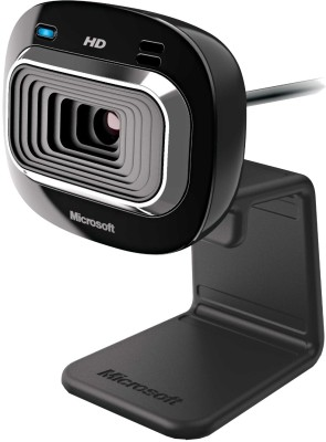 Microsoft Lifecam HD 3000 Webcam(Black)