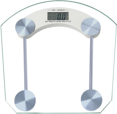 Lion Digital Thick Glass Weighing Scale(Silver)  available at flipkart for Rs.590