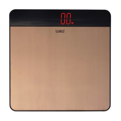 Samso Digital Person Weighing Scale(Rose Gold / Black)  available at flipkart for Rs.1770