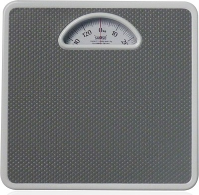 Samso Mechanical Bathroom Weighing Scale(Grey)  available at flipkart for Rs.1100