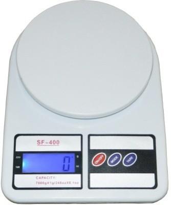 Shoppingekart S51 Electronics Digital 7 Kg X 1 Gm Kitchen Multi-Purpose Weighing Scale(White)