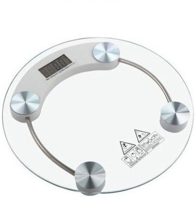 E'Shop Round Weighing Scale(White)