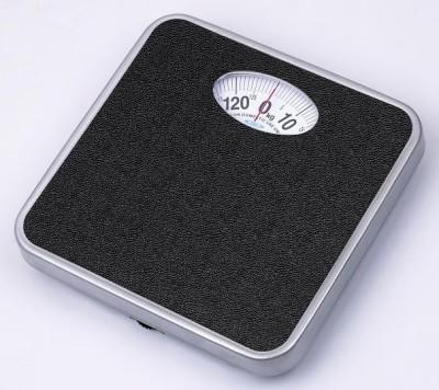 Venus Manual Metal Body Weighing Scale(Black)