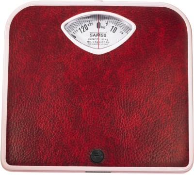 Samso Sleek 130kg Weighing Scale  available at flipkart for Rs.885