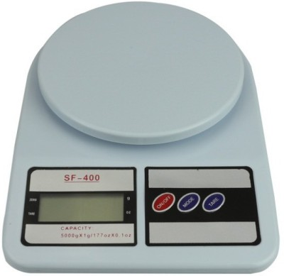 E-DEAL 1g to 10 kg Digital Weighing Scale(White)