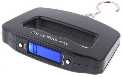Zingalalaa Digital LCD Hanging Weighing Scale(Black)