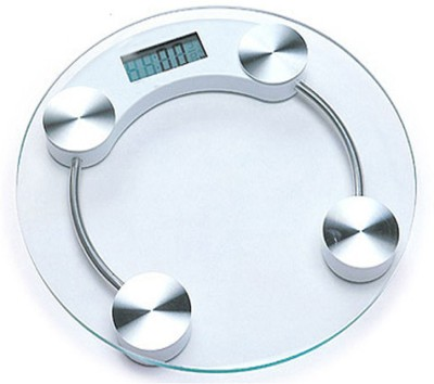 Venus EPS- 2003 Transparent Round Digital Weighing Scale(Clear)