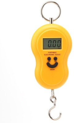 MTC clyinder and luggage Digital LCD Hand Held Portable Weighing Scale(Yellow)  available at flipkart for Rs.199