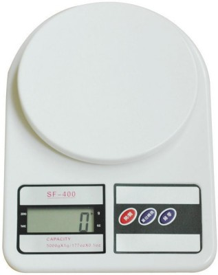 CPEX Electronic Weighing Scale Weighing Scale(WHITE)