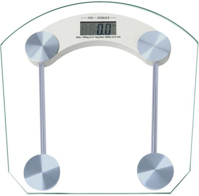 Benison India Electronic Durable Digital Square Weighing Scale(Transparent)