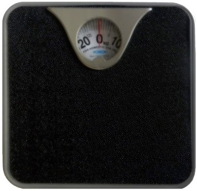 Venus SVASTIKA3-96 Metal Body Weighing Scale (Analog) Weighing Scale(Black)