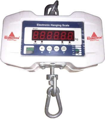 Deep Econotech Electronic Hanging Scale Weighing Scale(White) at flipkart