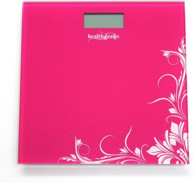 Healthgenie HD-221 Digital Weighing Scale(Pink)
