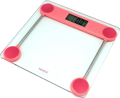 Venus Electronic Personal Health Check Up Body Fitness Weighing Scale(Pink)
