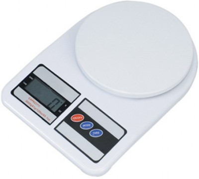 E-DEAL Electronic Kitchen 10 kg Weighing Scale(White)