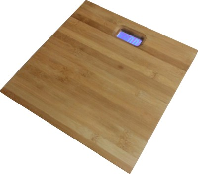 Virgo Digital Wooden,Bamboo Body Weighing Scale(Brown)