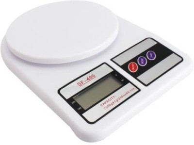 iStore Digital Weight Scale Weighing Scale(White)